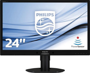Philips Brilliance 241B4LPYCB 24 Zwart Full HD, Philips