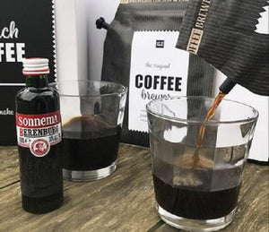 Dutch coffee met kruidenbitter, The brew company