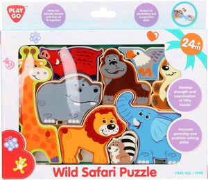 Playgo Puzzel Safari, Playgo