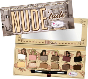 The Balm Nude Tude Eyeshadow Palette, TheBalm