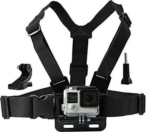 YONO Chest Strap Borstharnas Mount voor GoPro en Action Cam, YONO