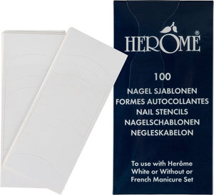 Herôme Nail Stencils - 10 st - decorate, Herôme