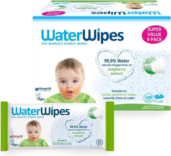 Waterwipes Snoetendoekjes, WaterWipes