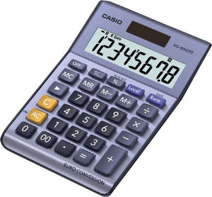 BUREAU CALCULATOR CASIO MS80VER 8 CIJFERS  LCD, Casio