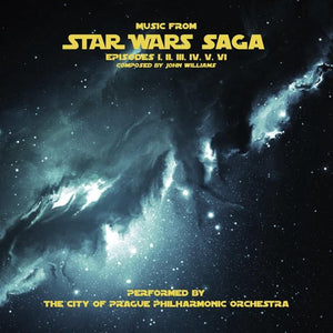 Music From Star Wars Saga Episodes, The City Of Prague Philarmonic Orch