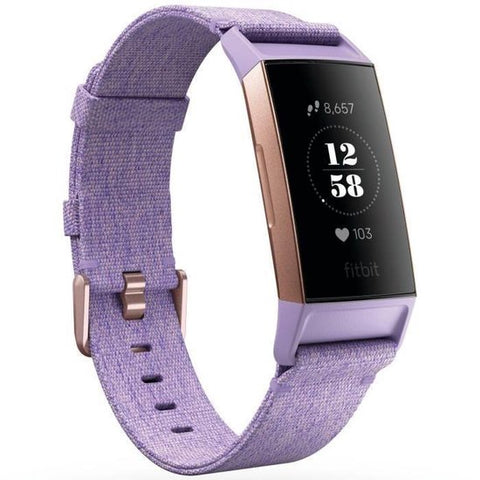 Fitbit Charge 3 Special Edition - Activity tracker - Lavender, Fitbit