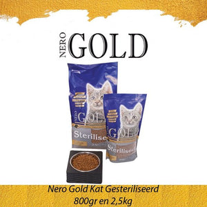 Nero Gold Kat Sterilised 800gr, Nero Gold