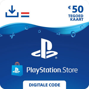 50 euro PlayStation Store tegoed - PSN Playstation Network Kaart (NL), Sony digitaal