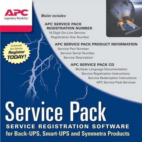 Service Pack 1 Year Warranty Extension (for new product purchases), APC