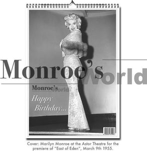 Monroe's World Marilyn Monroe Happy Birthday Verjaardagskalender, Ian Miller