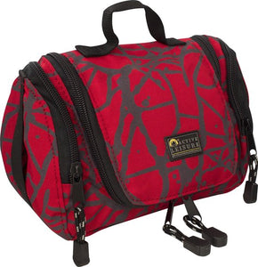 Active Leisure Toiletbag - Rode Print, Active Leisure