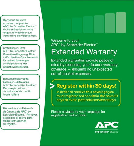 Service Pack 3 Year Warranty Extension (for new product purchases), APC