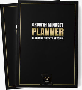 Growth Mindset Planner - Personal Growth Version - Growth - Personal Growth - Planner - Progressie - Plannen - Mindset - Mastermind Mentor, Mastermind Mentor
