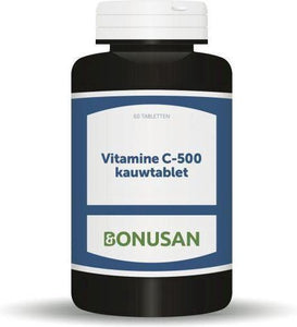 Bonusan Vitamine C 500 mg - 60 Tabletten - Vitaminen, Bonusan