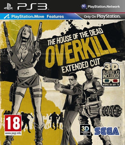 The House Of The Dead: Overkill Extended Cut, Sega Games