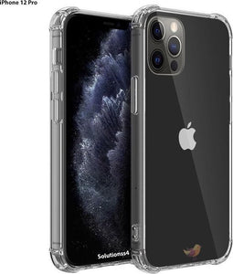 iphone 12 Pro hoesje - inclusief gratis Koord - iPhone Pro 12 shock proof case - iPhone 12 Pro hoesje transparant - hoesje iPhone 12 Pro apple - iPhone 12 Pro hoesjes cover hoes, Solutionss4