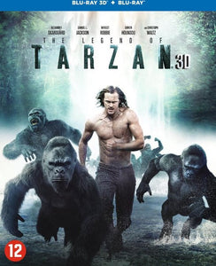 The Legend Of Tarzan (3D Blu-ray), Merkloos