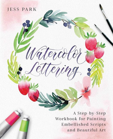 Watercolor Lettering, Jessica Park