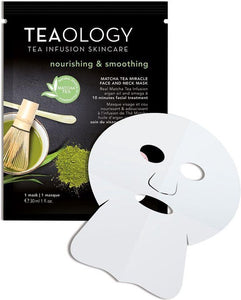 Teaology Matcha Tea Miracle Face and Neck Mask, Teaology