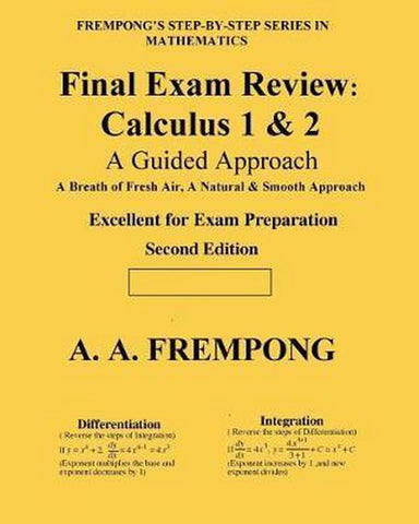 Final Exam Review, A a Frempong