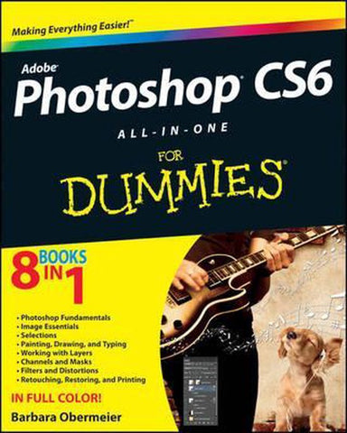 Photoshop CS6 All-in-One For Dummies, Barbara Obermeier