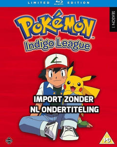 Pokemon Indigo League Seizoen 1 (blu-ray) (Import), Merkloos