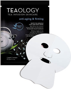 Teaology White Tea Miracle Face and Neck Mask, Teaology