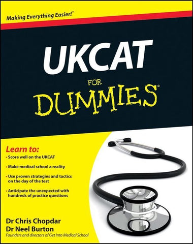 UKCAT For Dummies, Chris Chopdar
