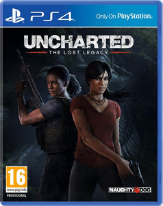 Uncharted: The Lost Legacy - PS4 (import), Sony
