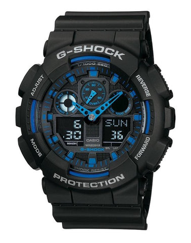 Casio G-Shock GA-100-1A2ER - Heren - Horloge - 50 mm, Casio