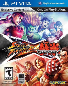 Capcom Street Fighter x Tekken, PS Vita, Capcom