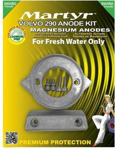 Volvo Penta 290 Anodeset Magnesium - Martyr, Martyr