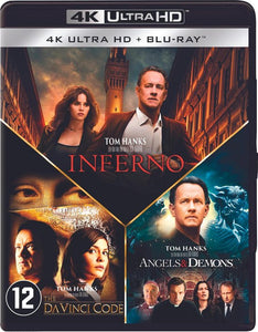 Inferno - Angels & Demons - The Da Vinci Code (4K UHD Blu-ray), Merkloos