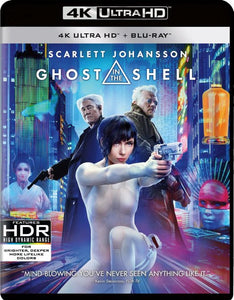 Ghost In The Shell (4K Ultra HD Blu-ray), Merkloos