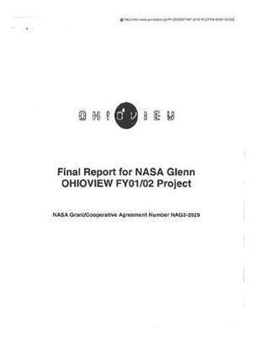 NASA Glenn Ohioview Fy01/02 Project, National Aeronautics And Space Adm Nasa