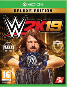 WWE 2K19 -  Deluxe Edition - Xbox One, 2K