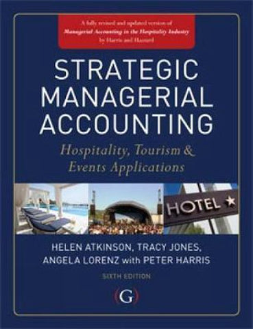 Strategic Managerial Accounting, Tracy Jones
