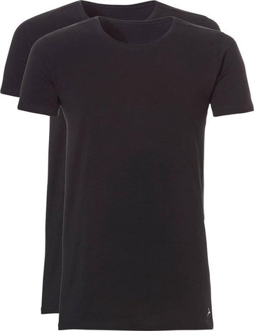 Ten Cate Men T-Shirt Long O-Neck 2 pack, Ten Cate