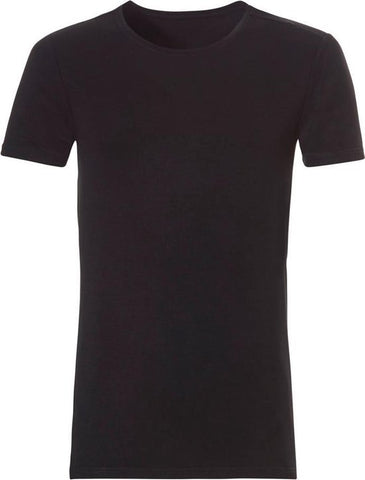 Ten Cate - Heren Bamboo Basic Ronde Hals T-Shirt Zwart - S, Ten Cate