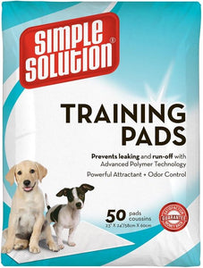 Simple Solution Training Pads 50 stuks - 58 x 60 cm, Simple Solutions