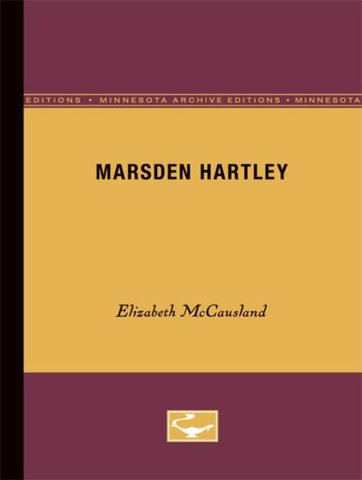 Marsden Hartley, Elizabeth Mccausland
