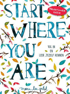 Start where you are, Meera Lee Patel