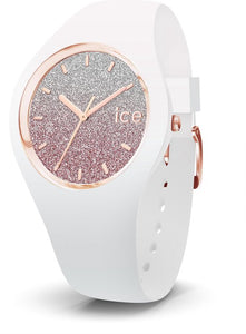 Ice-Watch ICE Lo IW013427 Horloge - Siliconen - Wit - Ø 34 mm, Ice-Watch