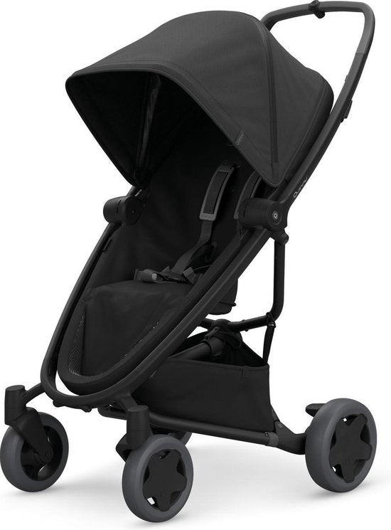 Quinny Zapp Flex Plus Buggy - Black on Black, Quinny
