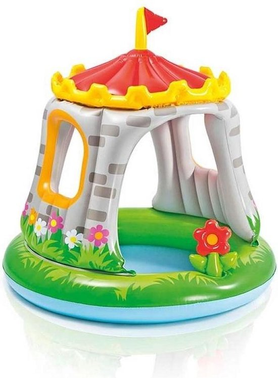 Intex Kinderzwembad Royal Castle 122x122x13cm, Intex