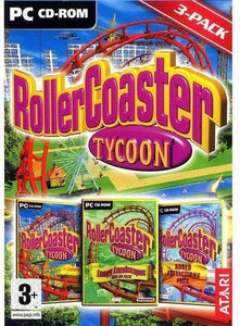 Rollercoaster Tycoon 1 + Added Attractions + Loopy Landscapes S, Atari