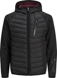 Jack & Jones Vest - Modern Fit - Zwart - 3XL Grote Maten, Jack & Jones