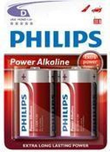 Philips LR20P2B - D / LR20 batterijen - 2 stuks, Philips