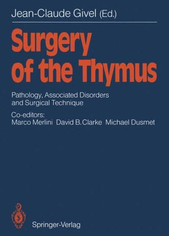 Surgery of the Thymus, Springer