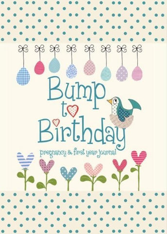 Bump to Birthday, Pregnancy & First Year Journal, from you to me